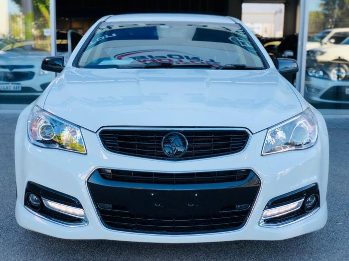 2013 HOLDEN COMMODORE SS VF WHITE