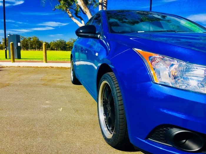 2012 HOLDEN CRUZE CD JH MY12 Perfect Blue