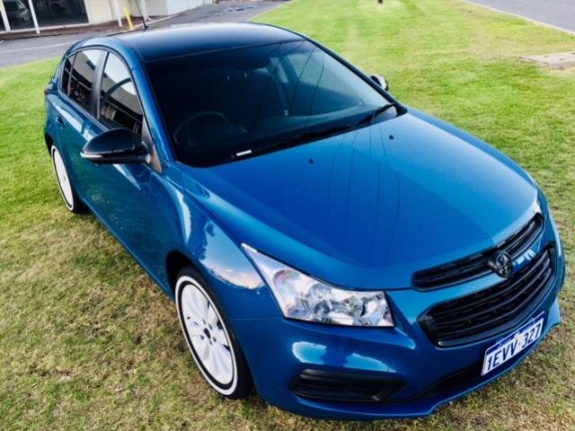 2015 HOLDEN CRUZE EQUIPE JH MY15 PERFECT BLUE