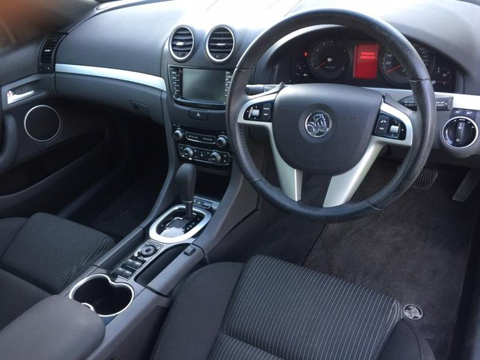 2013 HOLDEN COMMODORE SV6 VE II MY12.5 SILVER