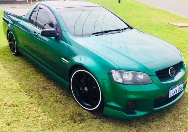 2011 HOLDEN COMMODORE SV6 VE II POISON IVY