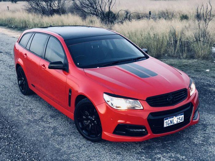 2013 HOLDEN COMMODORE SS VF RED HOT