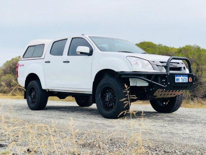 2014 ISUZU D-MAX SX (4x4) TF MY14 WHITE