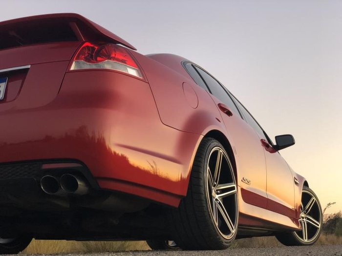 2011 HOLDEN COMMODORE SS VE II RED
