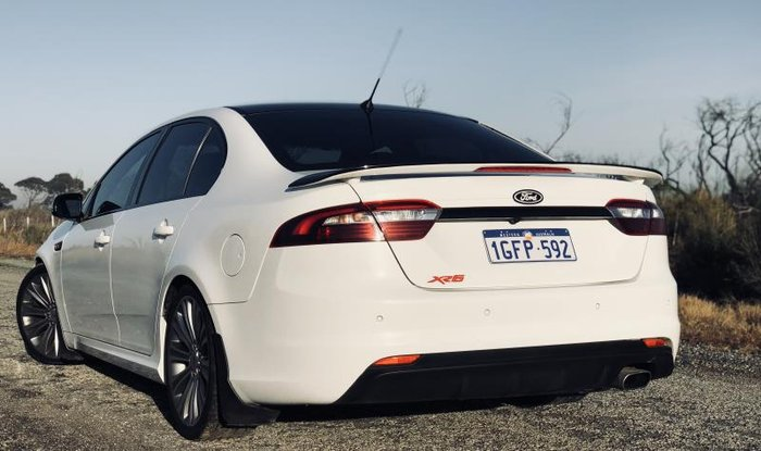 2014 FORD FALCON XR6 FG X WHITE