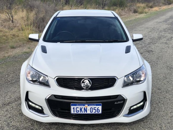 2017 HOLDEN COMMODORE SS VF II MY17 WHITE