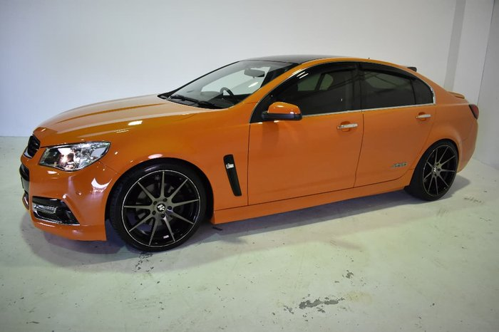 2013 HOLDEN COMMODORE SS V VF Orange