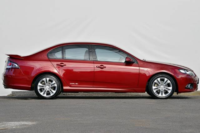 2012 FORD FALCON XR6 ECOLPI FG MKII RED