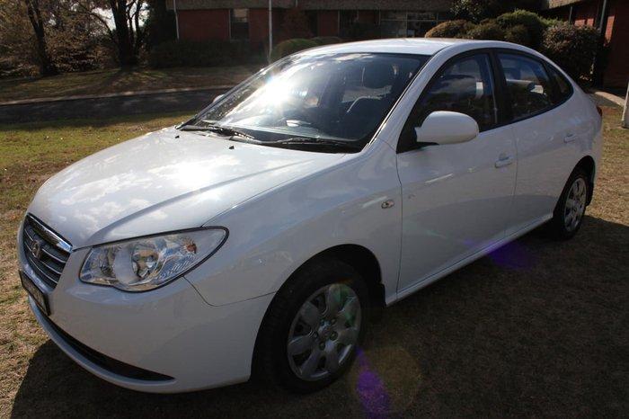 2007 HYUNDAI ELANTRA SX HD White