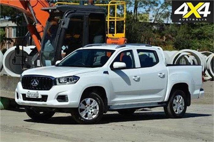 2017 LDV T60 PRO SK8C BLANC WHITE