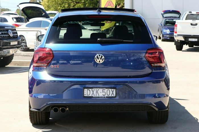 2018 Volkswagen Polo GTI AW MY18 BLUE
