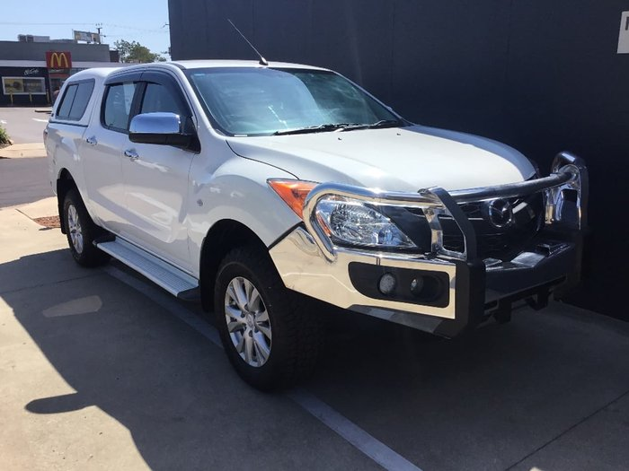 2014 MAZDA BT-50 XTR UP White