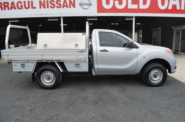 2012 MAZDA BT-50 XT HI-RIDER UP Silver