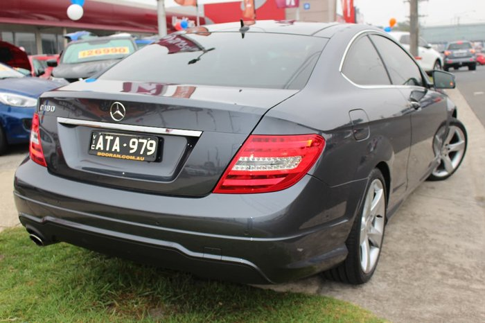 2015 MERCEDES-BENZ C180 AVANTGARDE C204 Grey
