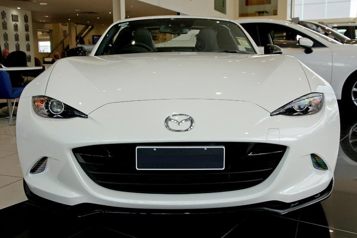 2018 MAZDA MX-5 LIMITED EDITION ND White