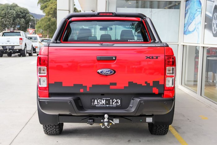 2018 FORD RANGER XLT PX MkII Red