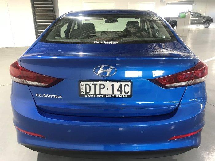 2017 HYUNDAI ELANTRA ELITE AD Blue