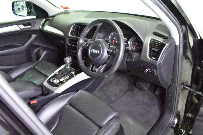 2013 AUDI Q5 TDI 8R Black
