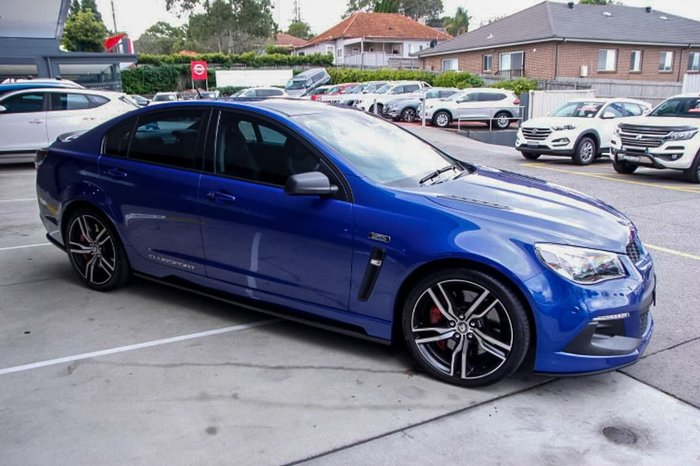 2017 HOLDEN SPECIAL VEHICLES CLUBSPORT R8 LSA GEN-F2 Blue