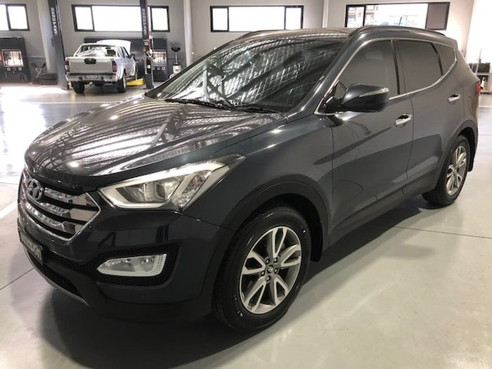 2012 HYUNDAI SANTA FE ELITE DM Blue