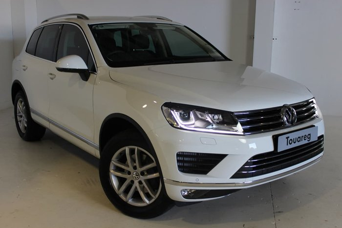 2017 VOLKSWAGEN TOUAREG 150TDI ELEMENT 7P White
