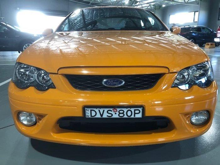 2006 FORD FALCON XR6 BF Mk II Orange