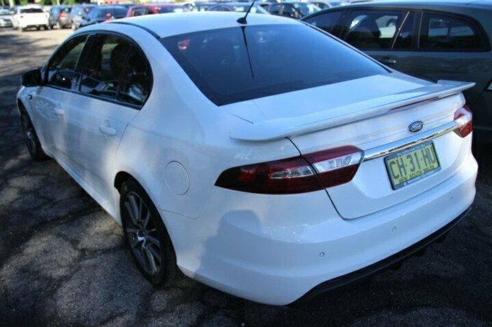 2016 FORD FALCON XR6 FG X White