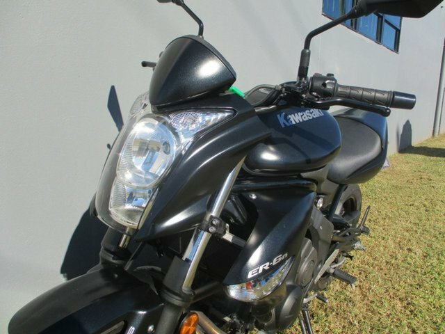 2010 Kawasaki ER-6n GREEN/BLACK