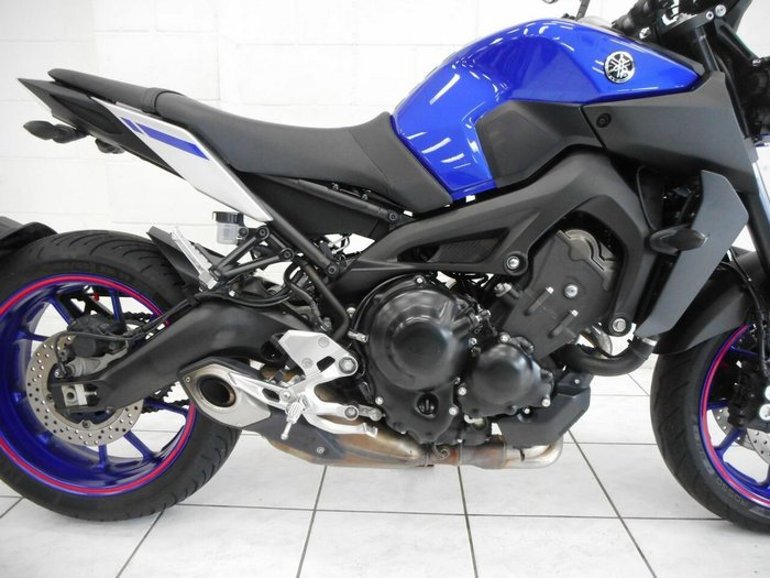 2017 Yamaha MT-09A Blue