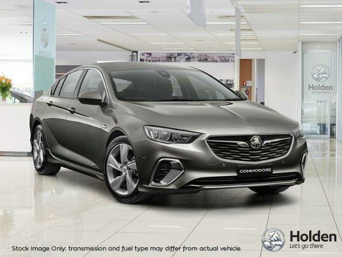 2018 HOLDEN COMMODORE RS-V ZB MY18 COSMIC GREY