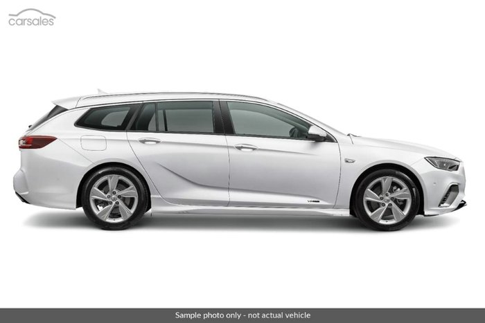 2018 HOLDEN COMMODORE RS-V ZB MY18 SUMMIT WHITE