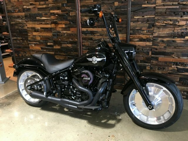 2018 Harley-Davidson FLFB FAT BOY Vivid Black