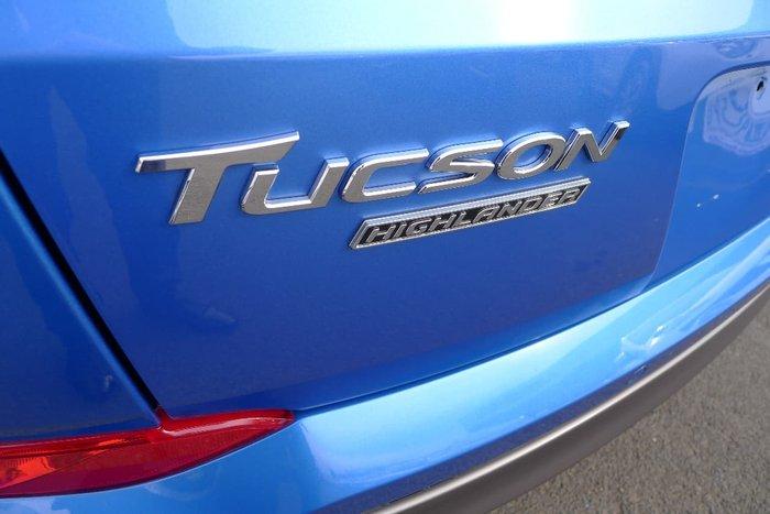 2015 HYUNDAI TUCSON HIGHLANDER TLe Blue
