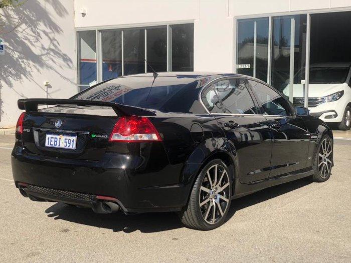 2012 HOLDEN COMMODORE SV6 Z-SERIES VE II MY12.5 BLACK