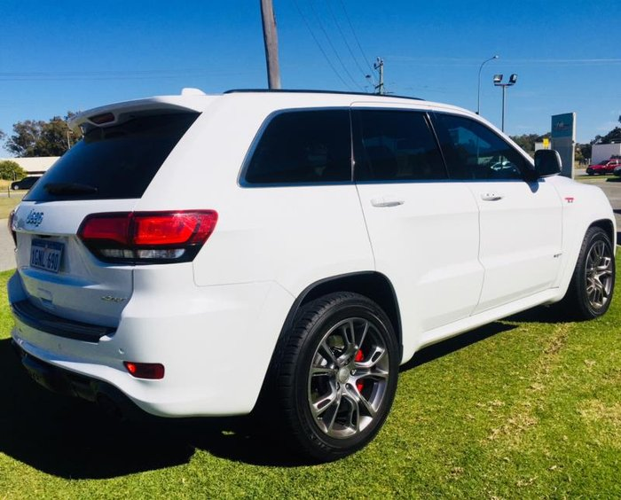 2014 JEEP GRAND CHEROKEE SRT 8 (4x4) WK MY15 WHITE