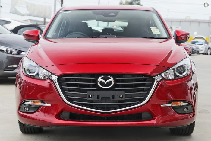 2018 MAZDA 3 SP25 BN Series Red