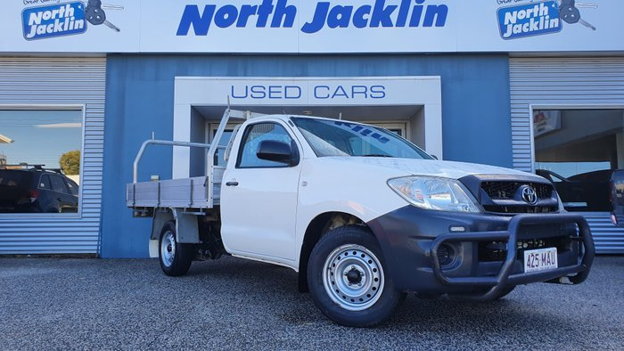2010 Toyota Hilux Workmate TGN16R MY10 WHITE