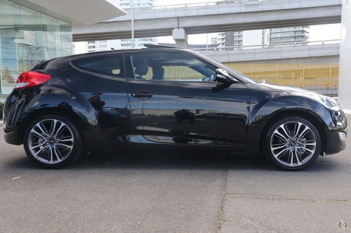 2017 HYUNDAI VELOSTER FS5 Series II Black