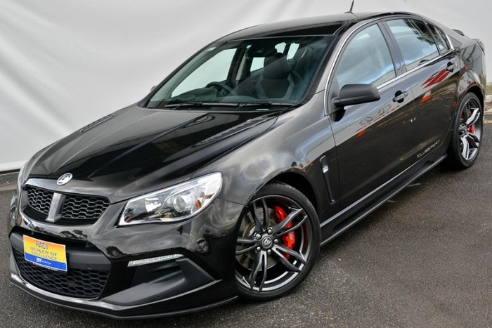 2015 HOLDEN SPECIAL VEHICLES CLUBSPORT R8 LSA GEN-F2 MY16 PHANTOM BLACK