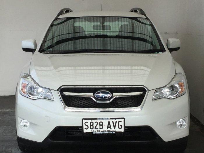 2012 SUBARU XV 2.0I G4X White