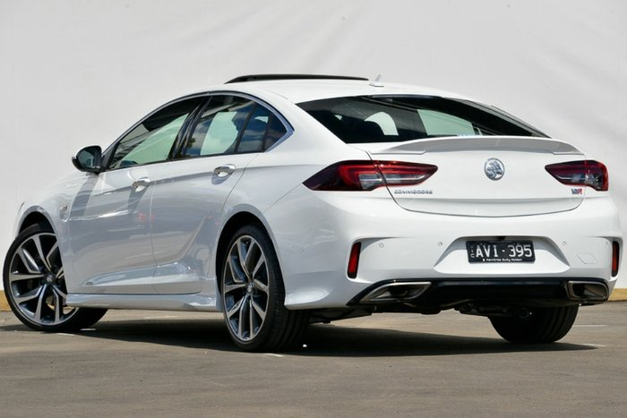 2018 Holden Commodore VXR ZB MY18 4X4 On Demand SUMMIT WHITE