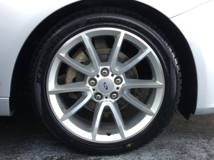 2014 FORD FALCON XR6 FG MkII Silver