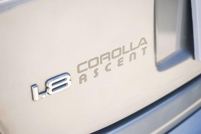 2001 TOYOTA COROLLA ASCENT AE112R Silver