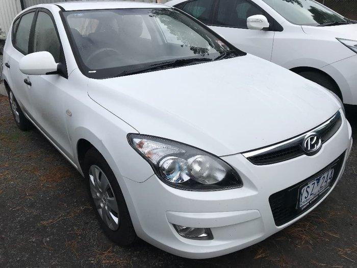 2011 HYUNDAI I30 SX FD White