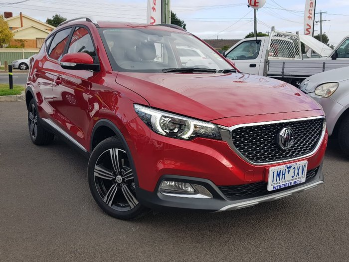 2018 MG ZS ESSENCE AZS1 Red