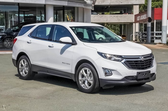 2018 HOLDEN EQUINOX LT EQ White