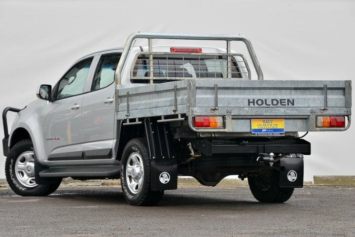 2015 HOLDEN COLORADO LS DUAL CAB RG MY15 NITRATE
