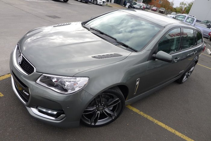2016 HOLDEN COMMODORE SS VF Series II Grey