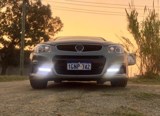 2015 HOLDEN COMMODORE SS-V REDLINE VF MY15 GREY