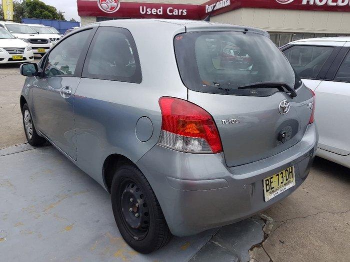 2009 TOYOTA YARIS YR NCP90R Grey